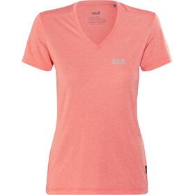 Jack Wolfskin Crosstrail t-shirt Dames roze